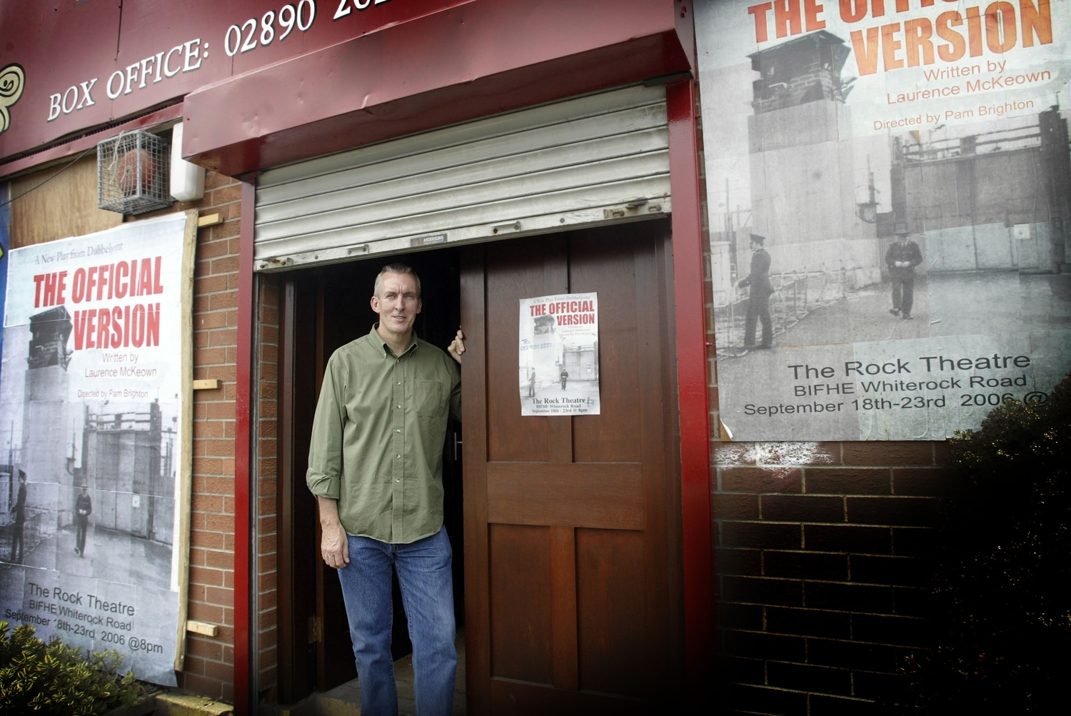 Former hunger striker Laurence McKeown is a playwright who has written about Maze/Long Kesh