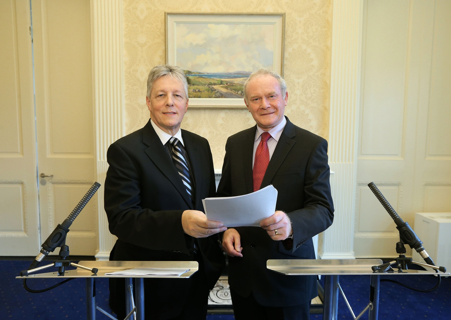 First and Deputy First Ministers outline shared future proposals