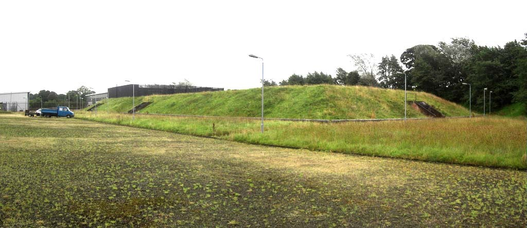 The grassy mound that hides Northern Ireland's nuclear bunker