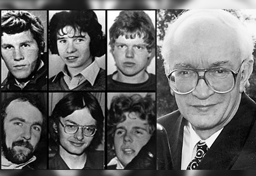 *Former Greater Manchester Deputy Chief Constable John Stalker and the 1982 'Shoot to Kill' victims
