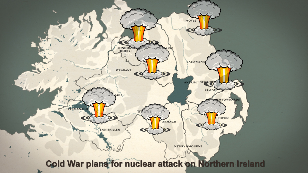 Cold War plans for nuclear attack on Northern Ireland