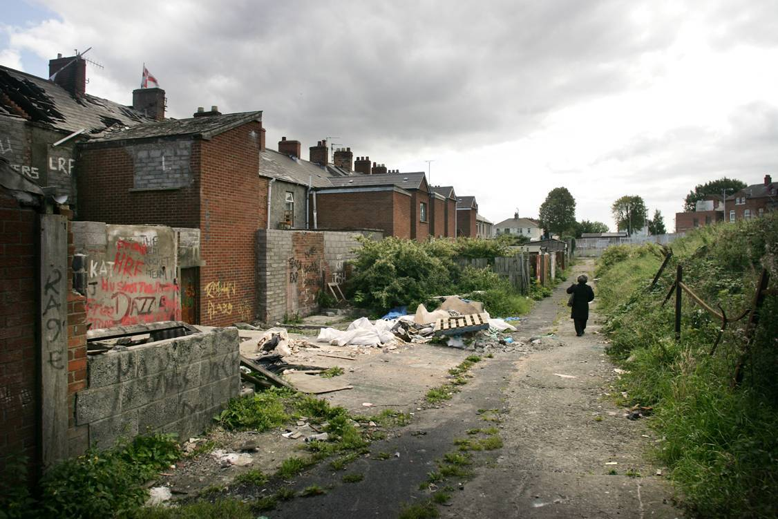 North Belfast suffers from some of the worst housing in Northern Ireland