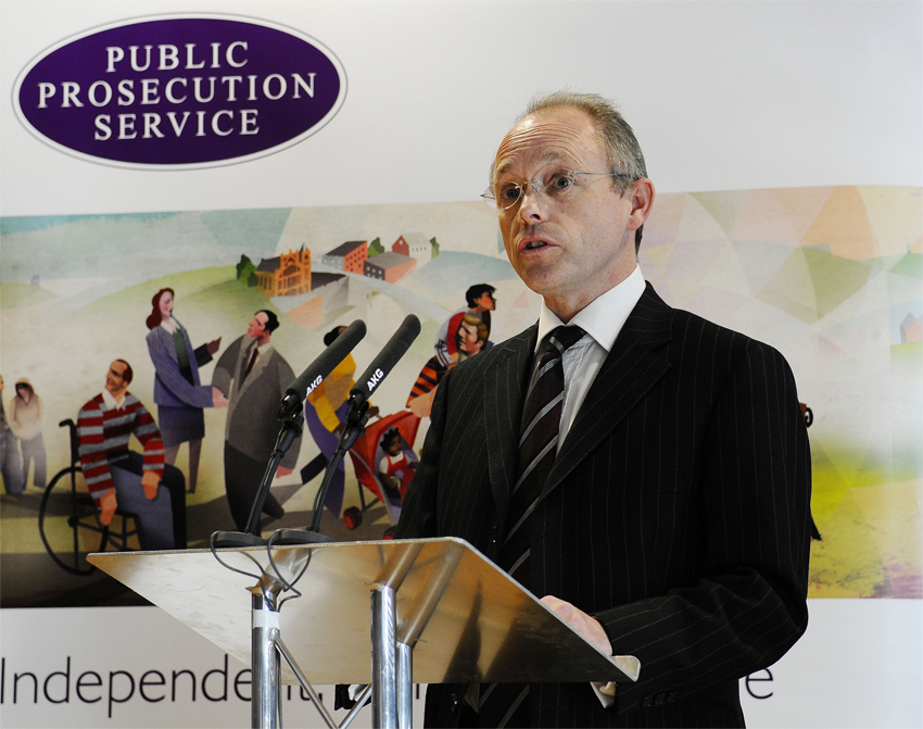 Director of Public Prosecutions Barra McGrory QC