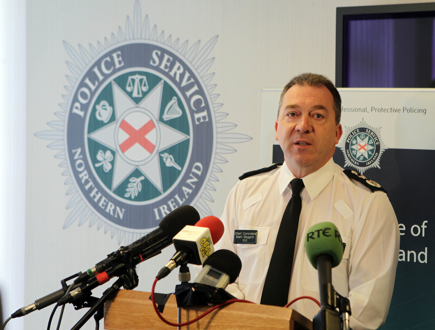 Matt Baggott has been PSNI Chief Constable since September 2009