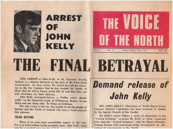 A copy of The Voice of the North newspaper, from June 1970