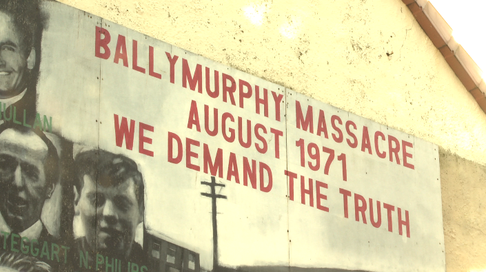 Over three days in August 1971 eleven people were killed by British troops in the Ballymurphy area
