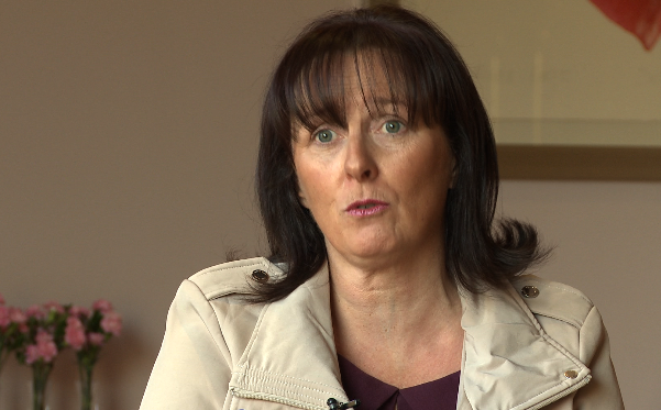 Bernadine McCrory is director of the Alzheimer's Society NI