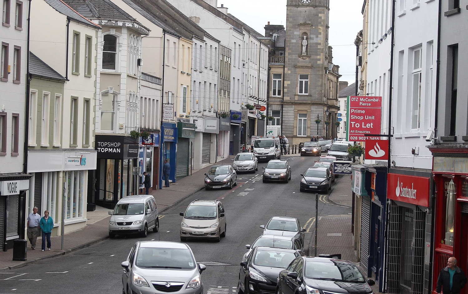 Will more rural Protestant families move away from the border and into Enniskillen?