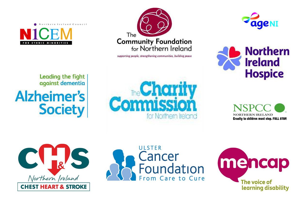 There are around 7500 known charities in Northern Ireland