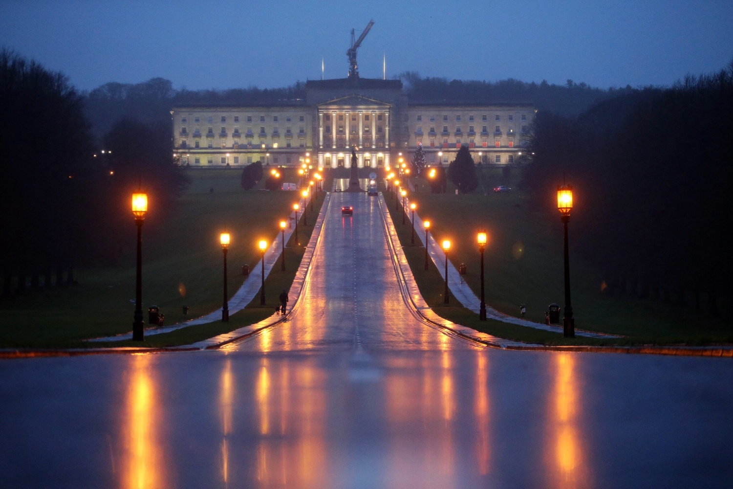 Stormont's power-sharing government is saved