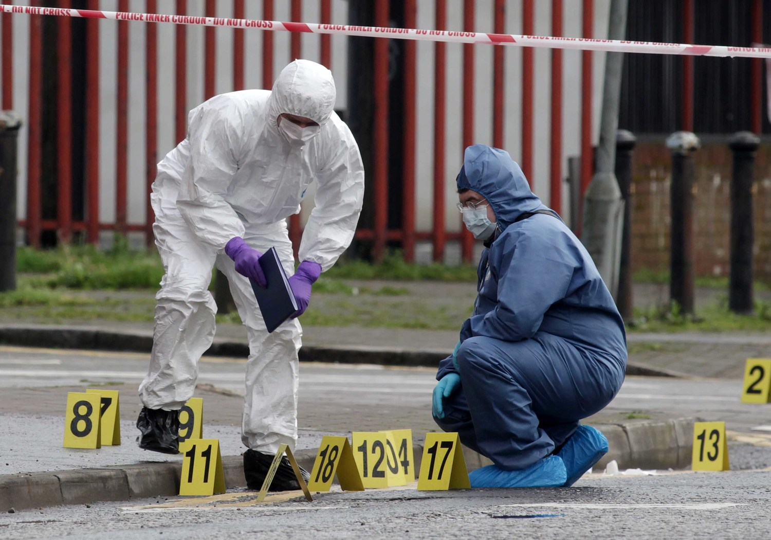 14,413 crime scene profiles are stored on the DNA database