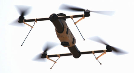 One of the models of drones used by the PSNI