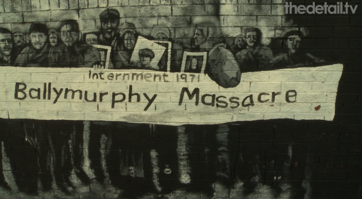 Over three days in August 1971 eleven people were killed by the troops in the Ballymurphy area