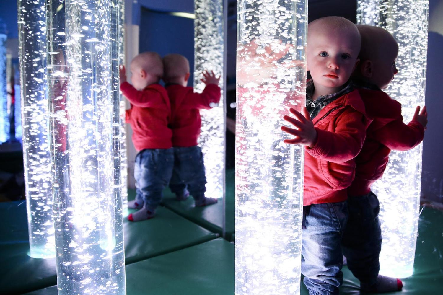 The sensory room at ARC Healthy Living Centre in Irvinestown