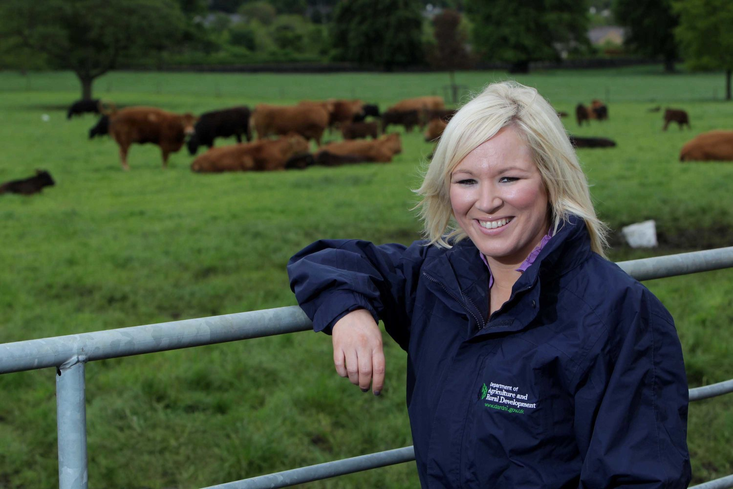 Agriculture Minister Michelle O'Neill. Picture by DARD.