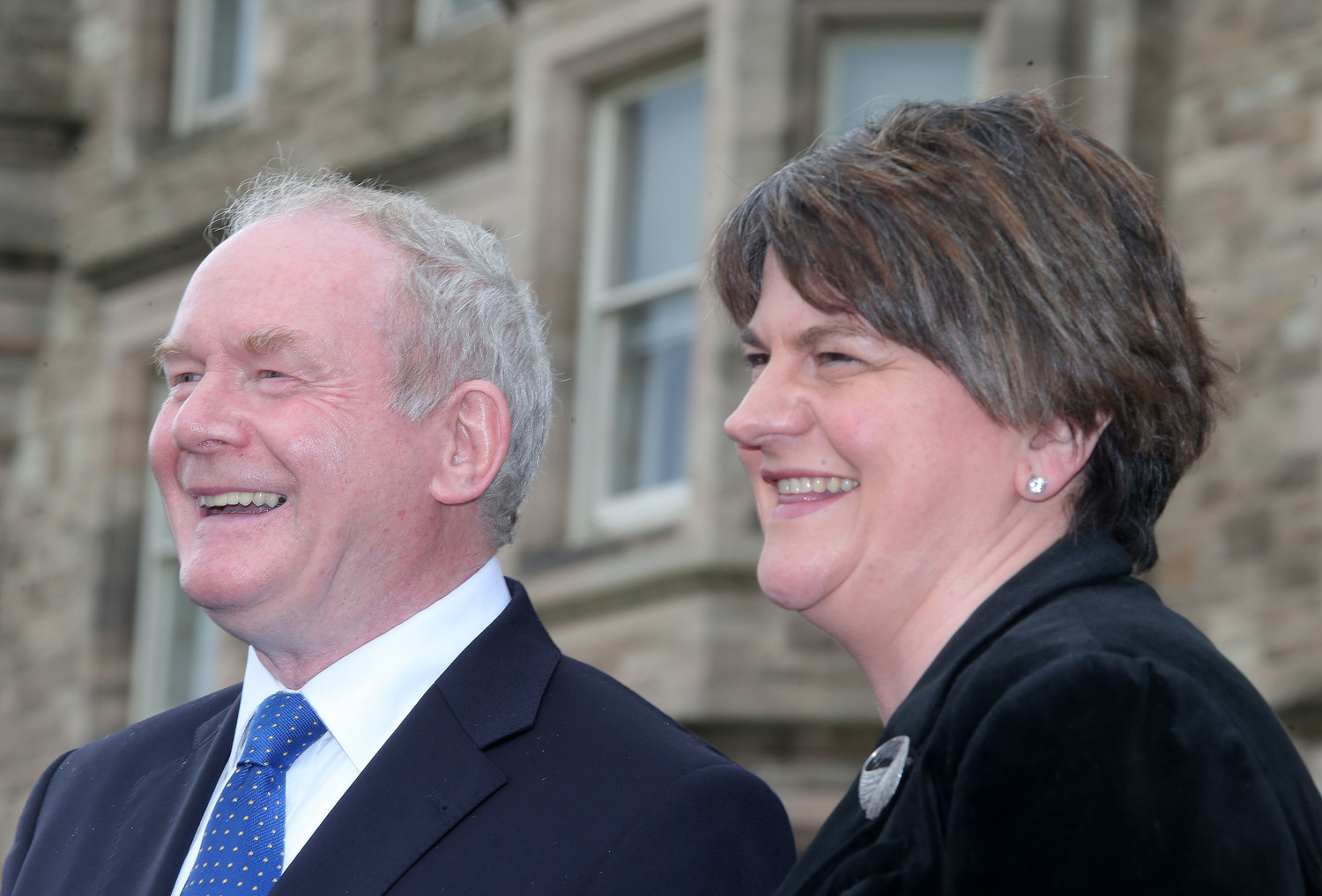 Martin & Arlene, already dubbed 'Marlene' by those highlighting the joint nature of their office