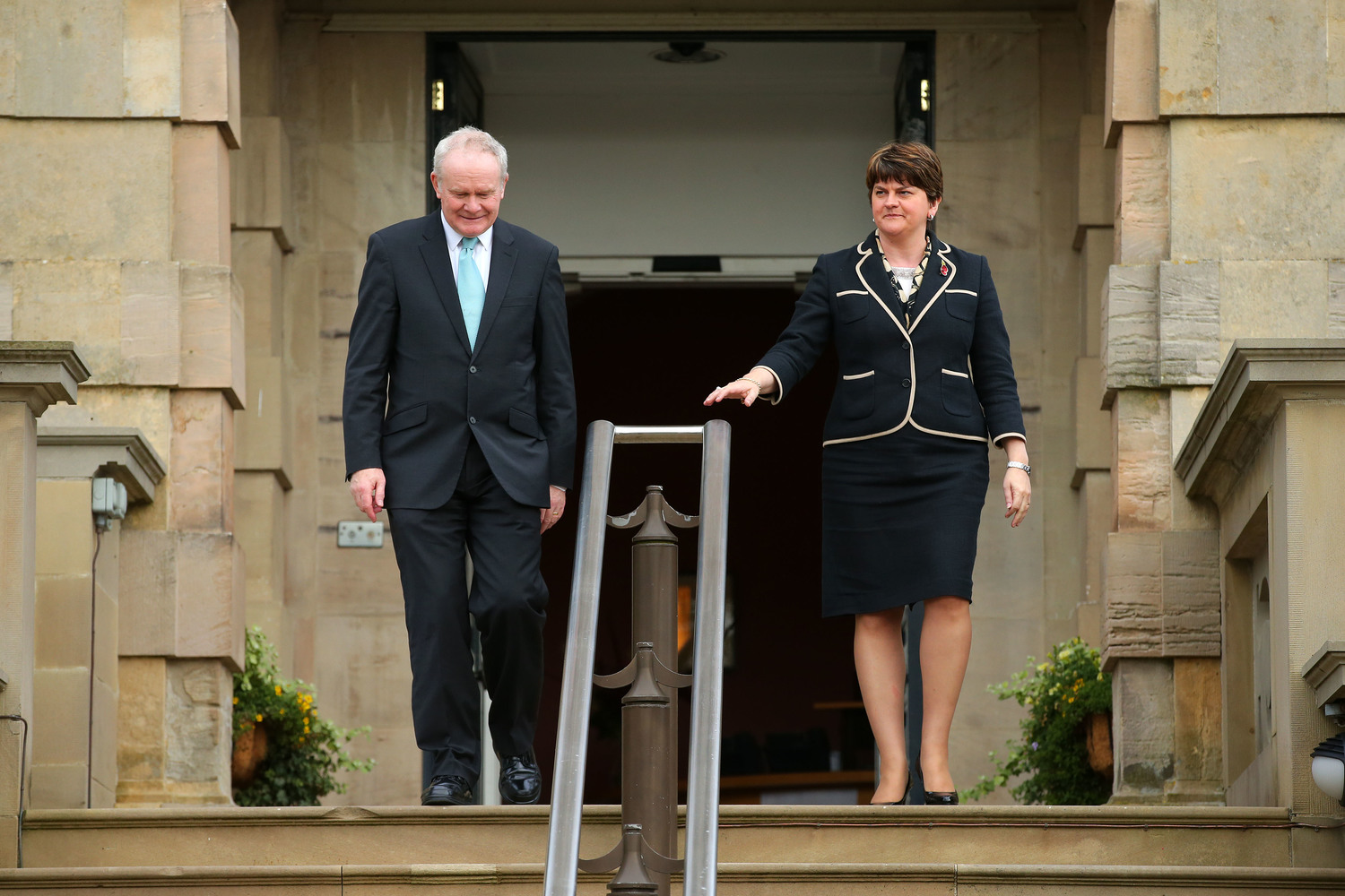 Martin and Arlene - 'Marlene' - had only a year in office together