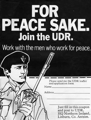 UDR recruitment add