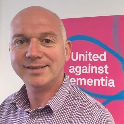 Barry Smyth, Alzheimer's Society Operations Manager for North and East Northern Ireland