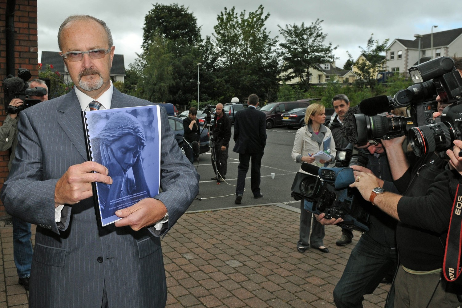 Police Ombudsman Al Hutchinson with his report into McGurk's bar bombing
