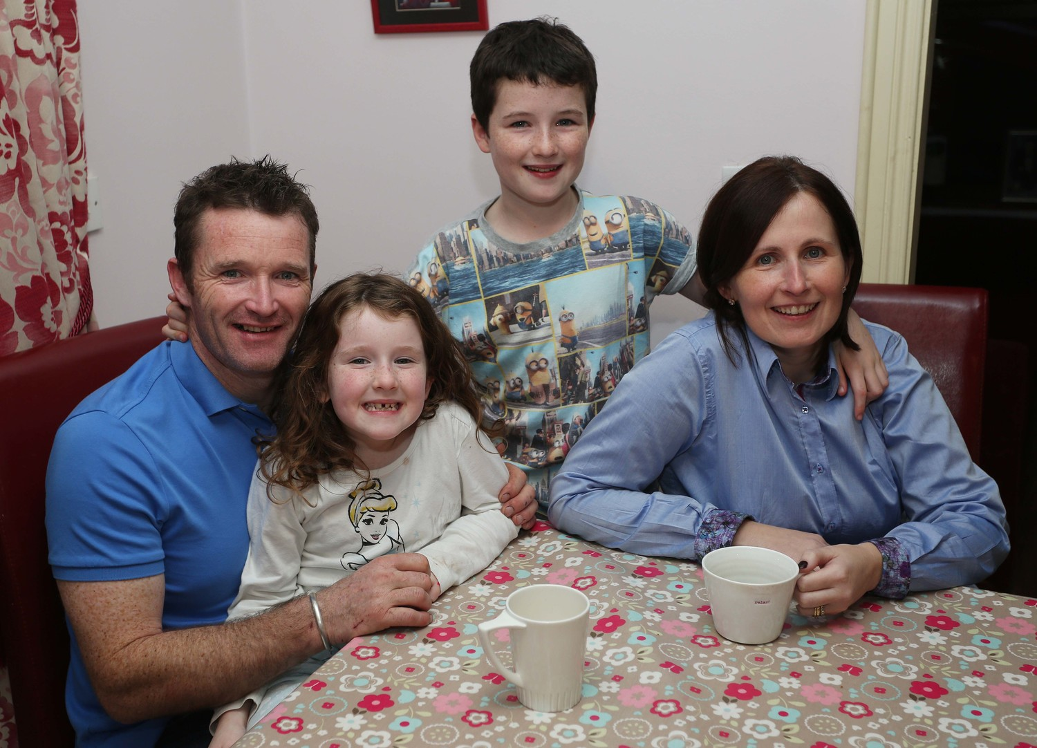Mickey, Annie, John & Moira McNulty. Photograph by Lorcan Doherty.