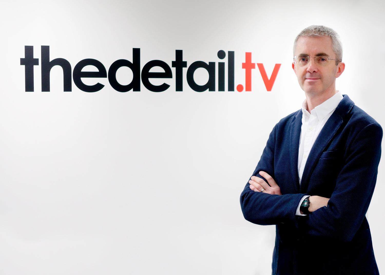Editor of The Detail, Steven McCaffery