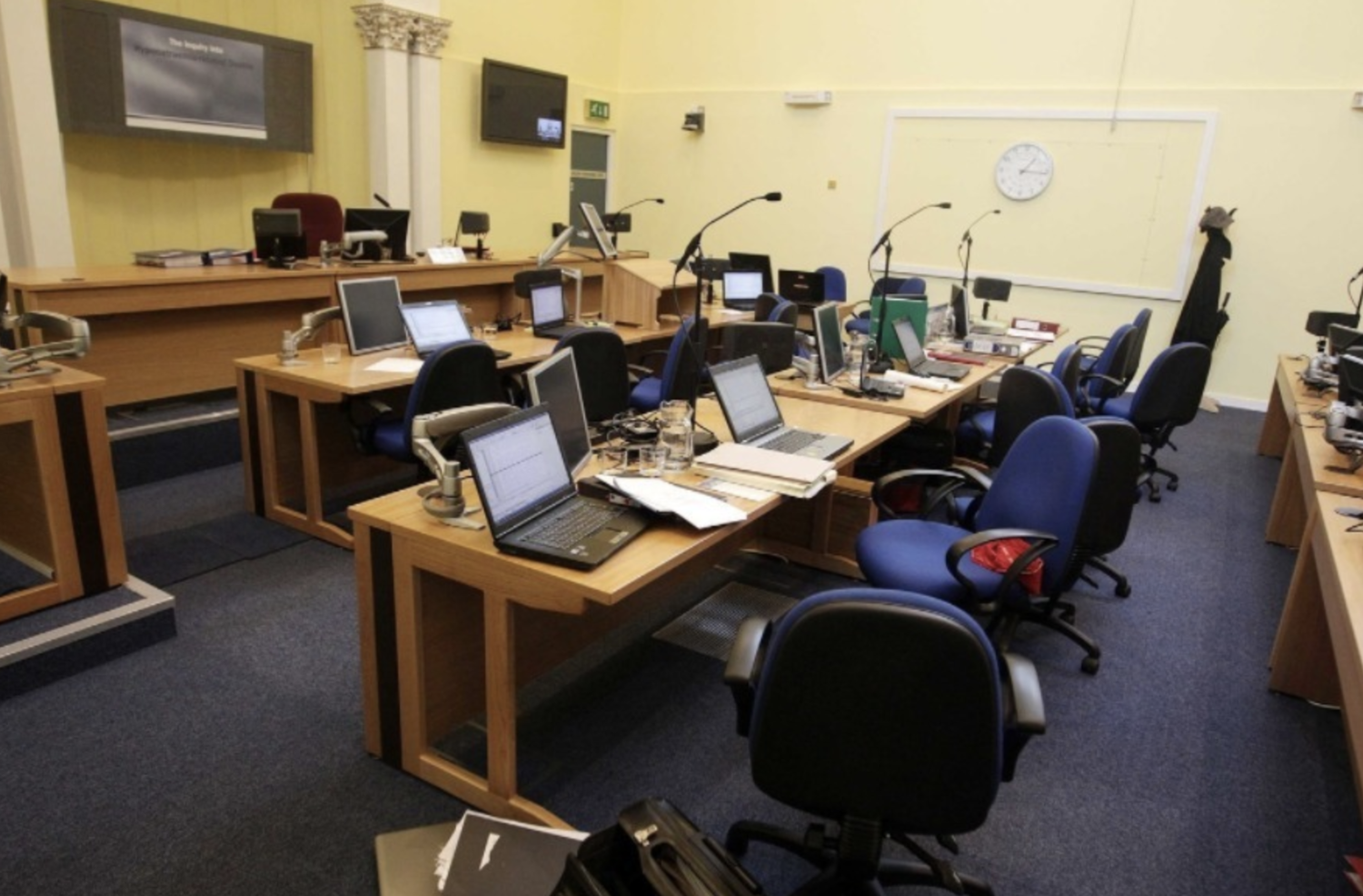 The Hyponatraemia Inquiry public hearings took place in Banbridge Court House