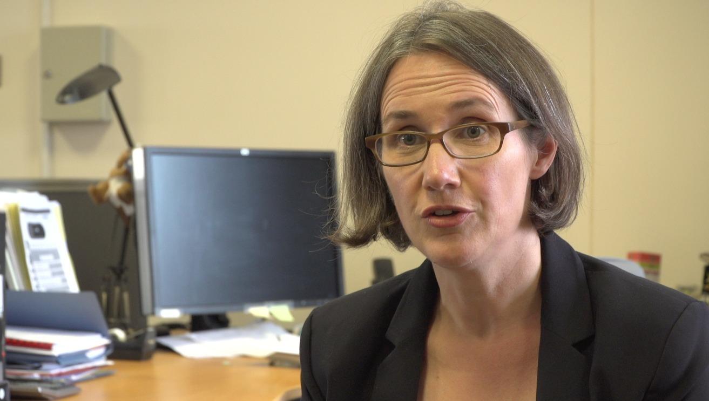 Head of the Northern Ireland Electoral Commission, Ann Watt