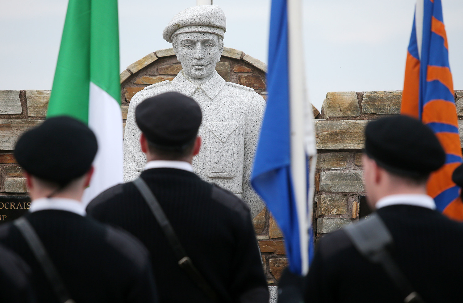 A republican colour party at an IRA memorial in Cappagh last year