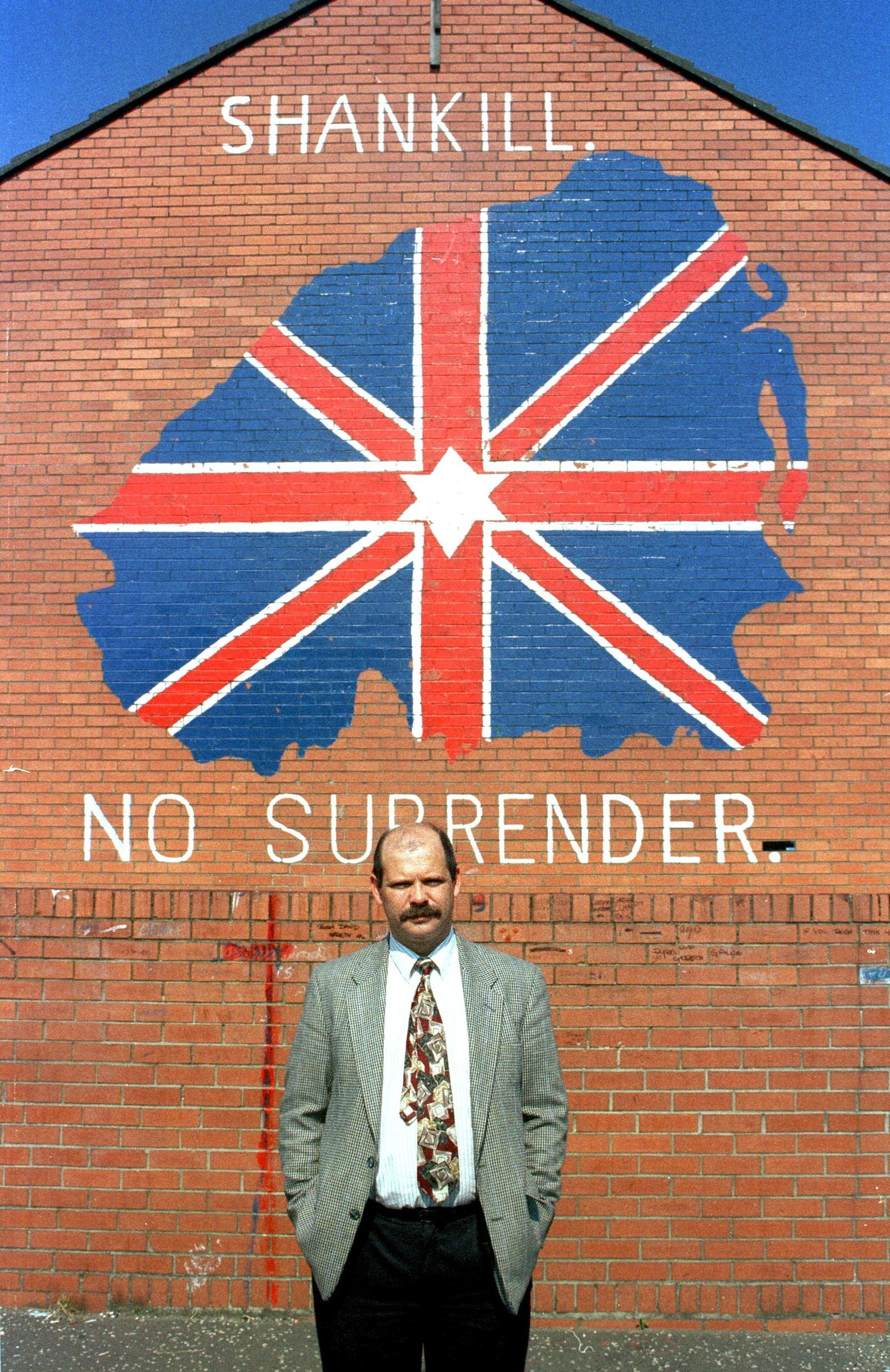 Former Progressive Unionist Party leader David Ervine who died in 2007.