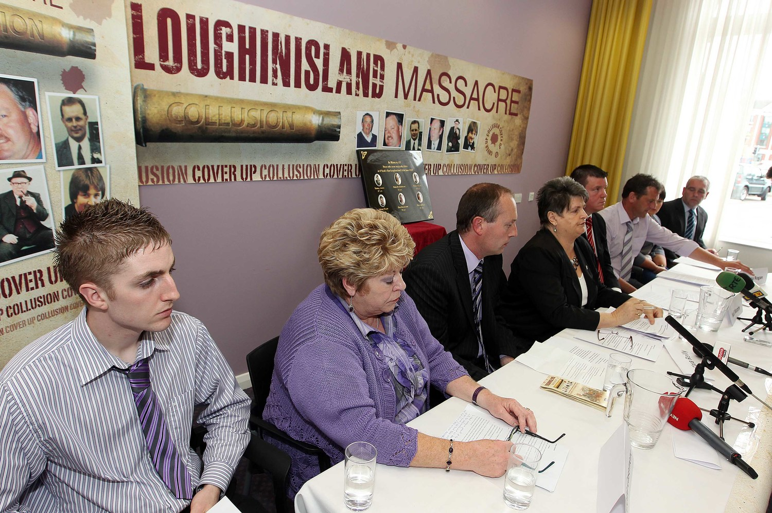 loughinisland families reject police ombudsman's report as a whitewash