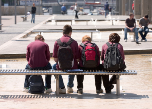 77% of pupils suspended from Northern Ireland's schools in 2016/17 were male. (Stock photo)