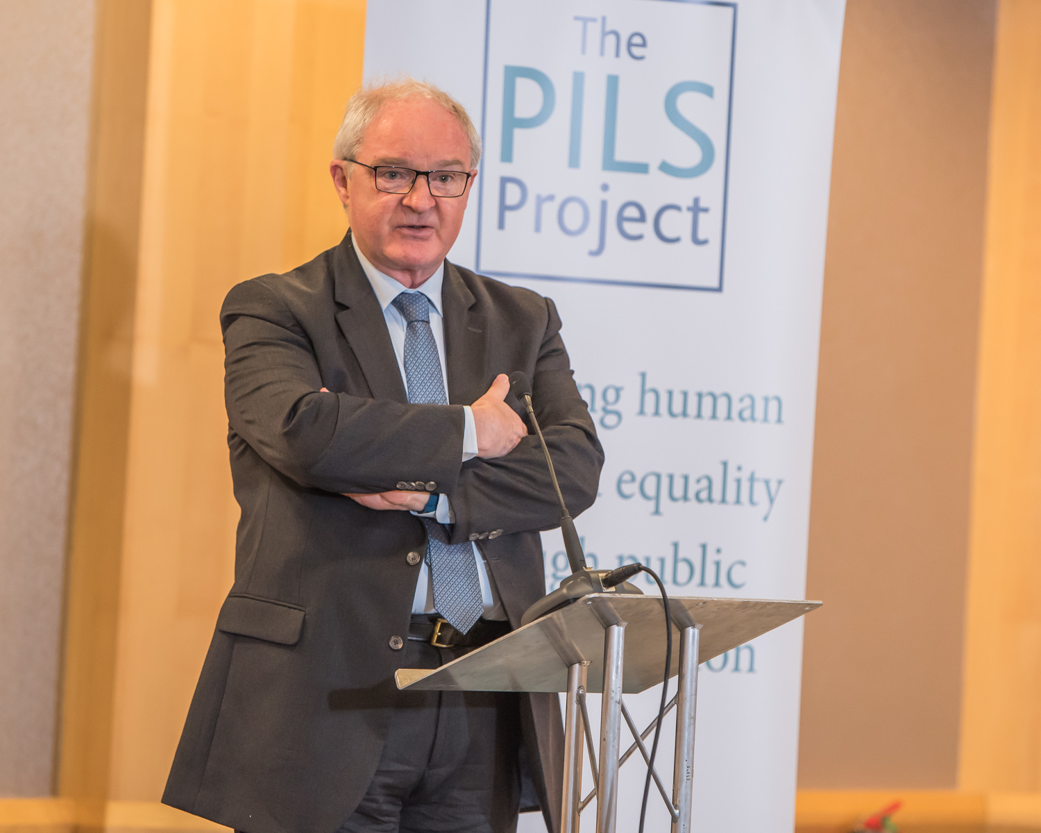Lord Chief Justice Sir Declan Morgan. Photo courtesy of the Public Interest Litigation Project.