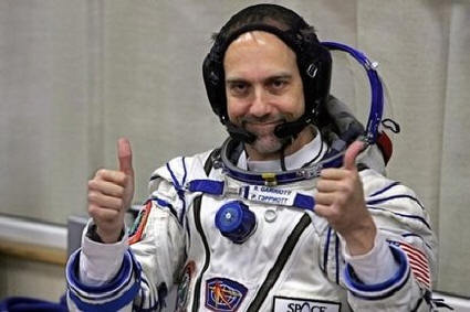 Richard Garriott on his space missionbefore being sacked by NCsoft