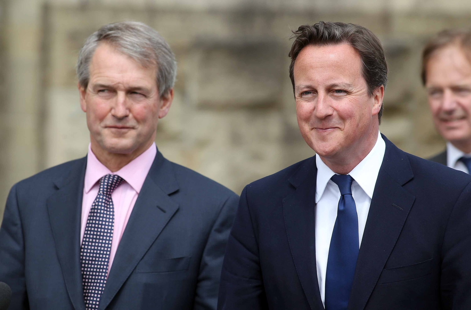 Owen Paterson and David Cameron