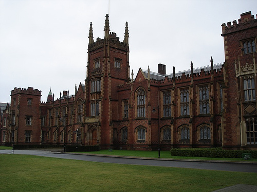 Queen's University Belfast has had 20 claims lodged against them since 2009