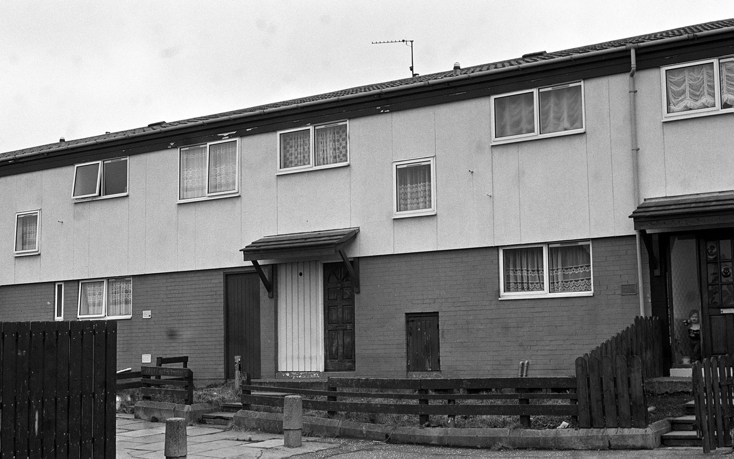 The house where Alexander Lynch was being held captive by the IRA