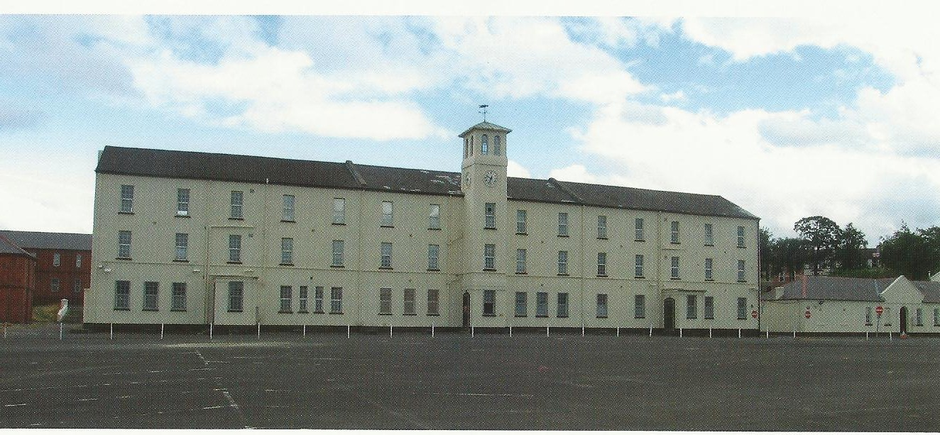 former Ebrington army barracks