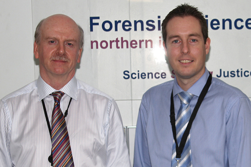 FSNI Chief Executive Stan Brown with Justice Committee chairman Paul Givan