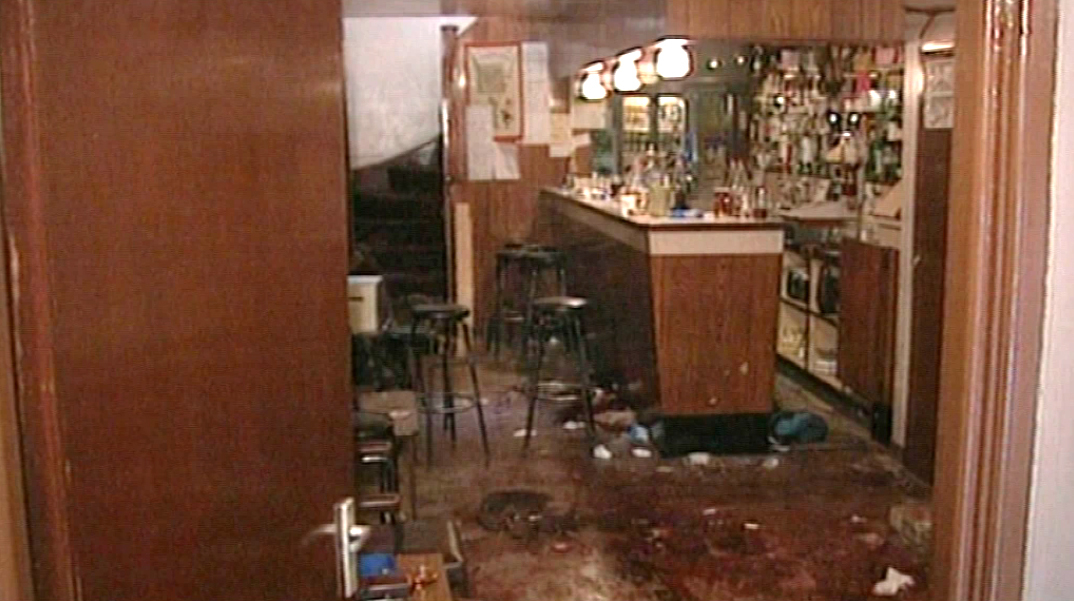 The aftermath of the Loughinisland massacre in 1994