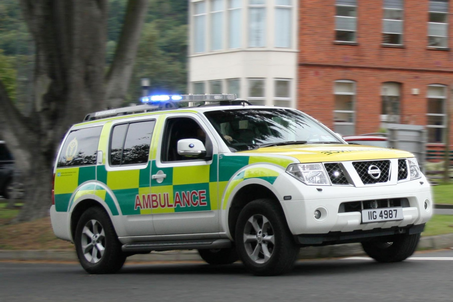 Northern Ireland invests less than 10p per person per day in the ambulance service