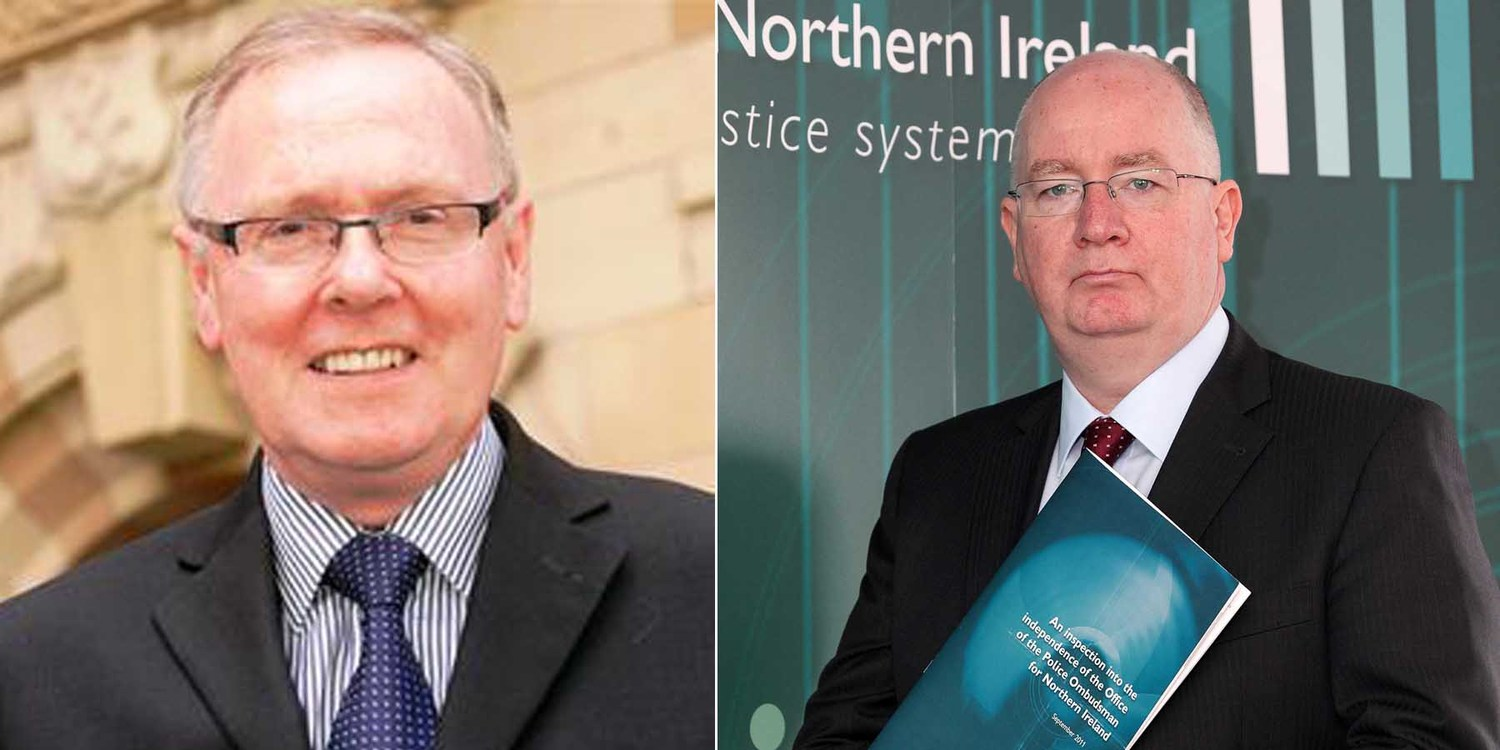 Tony McCusker and Michael Maguire carried out seperate investigations into the Police Ombudsman's Office