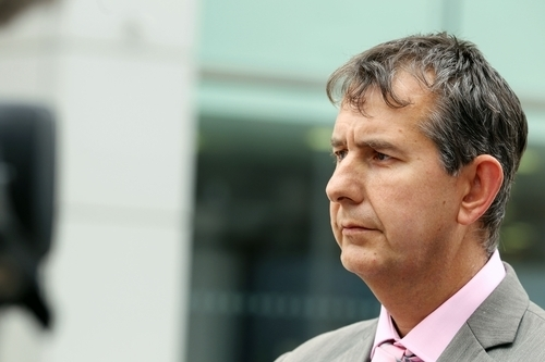 Health Minister Edwin Poots chairs the domestic violence group