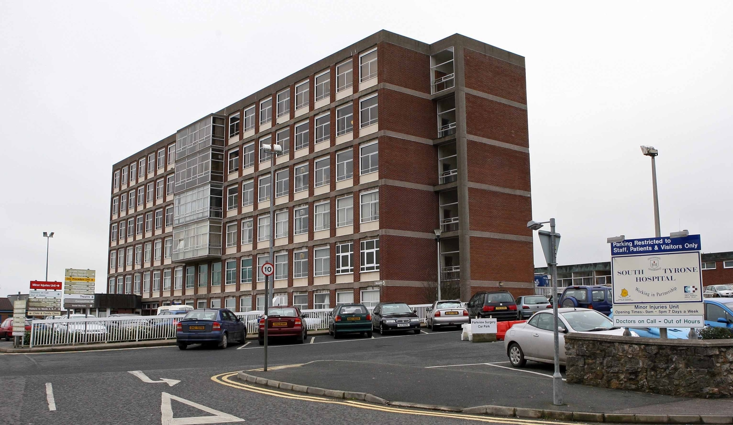 Structural repairs are urgently needed at SouthTyrone Hospital