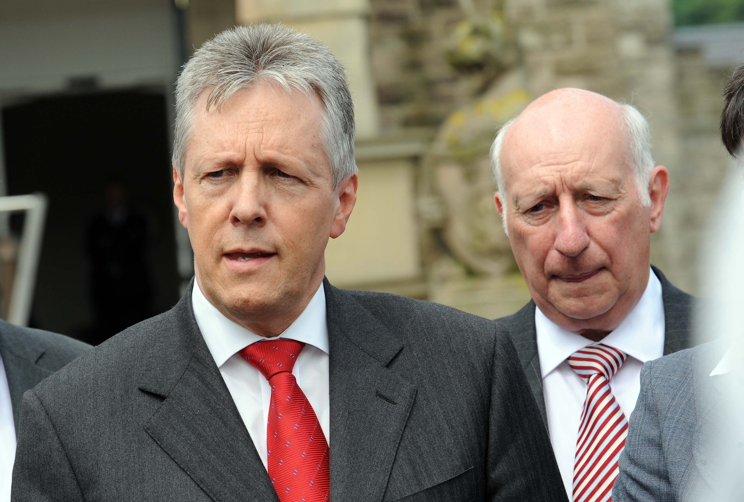 Peter Robinson and Robin Newton lobbied for Red Sky extension