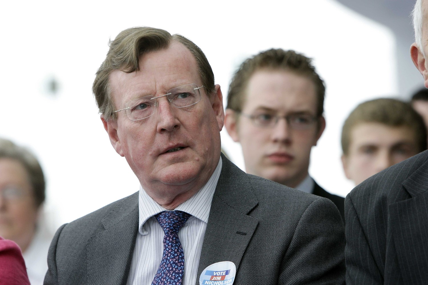 Former Ulster Unionist leader David Trimble