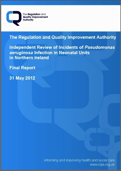 RQIA published their final report in May 2012