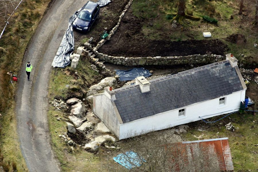 The Co Donegal cottage where Denis Donaldson was shot dead in April 2006