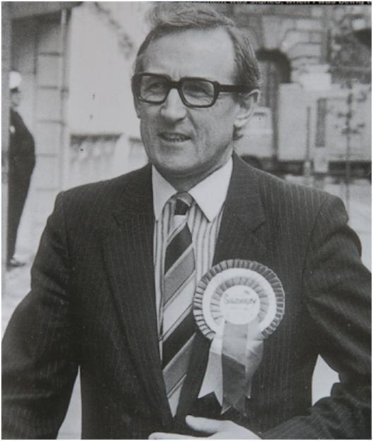 Former Ulster Unionist MP Harold McCusker