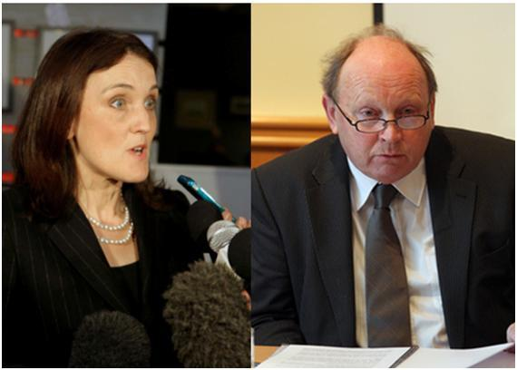 Jim Allister's bill will require the consent of Secretary of State Theresa Villiers